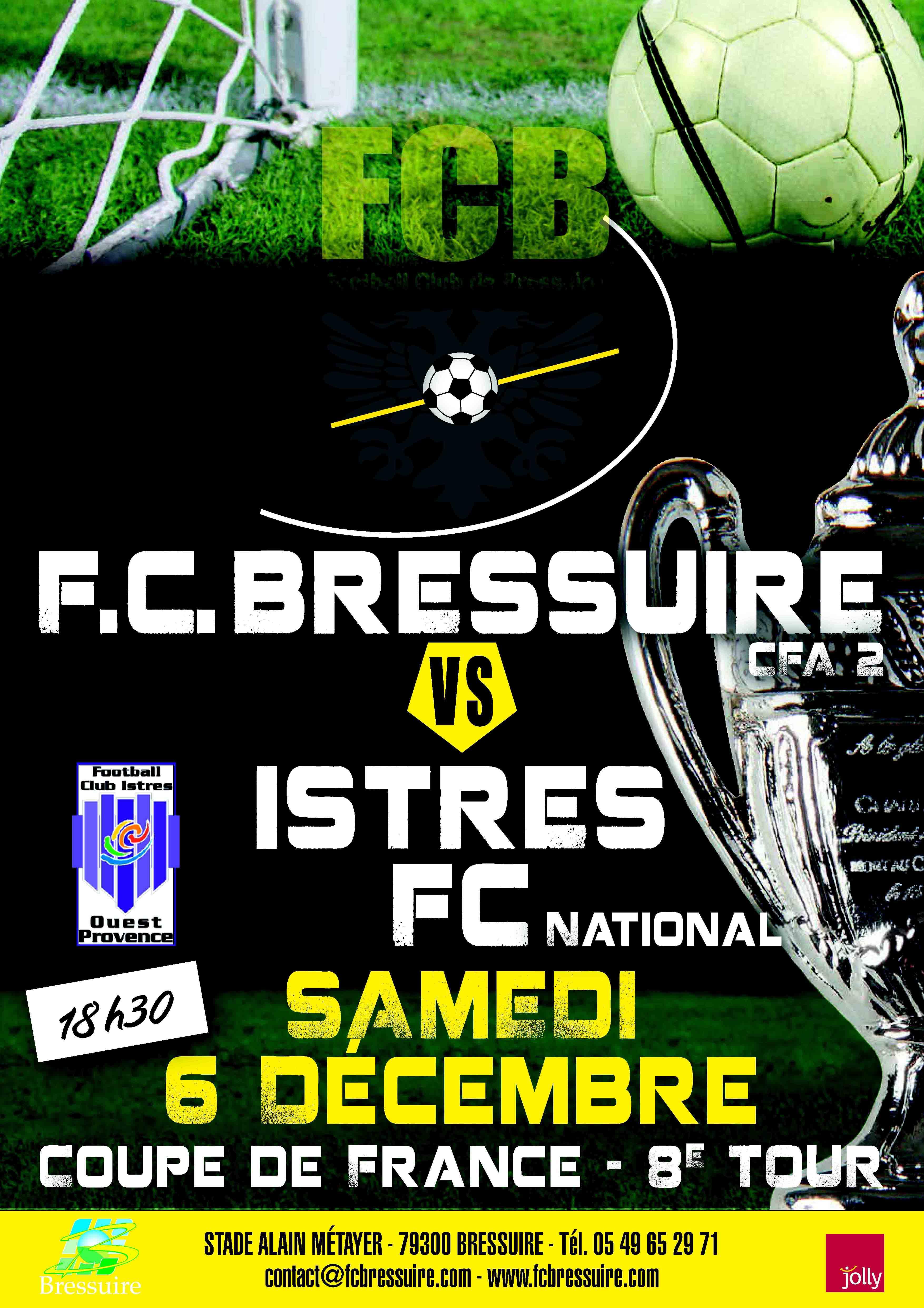 Football club de bressuire parcours cdf coupe de france - Tirage 8eme tour coupe de france 2014 ...