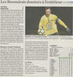 FCB Poitiers retour