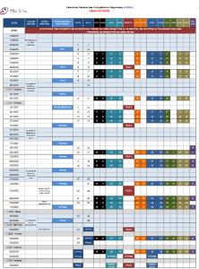 calendrier JEUNE 2020