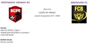 COUPE DE FRANCE 4 éme tour