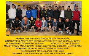 groupe 18 ans Gambardella 2019 2020