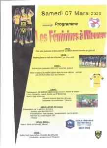 Affiche feminines pour le 8 Mars 2020